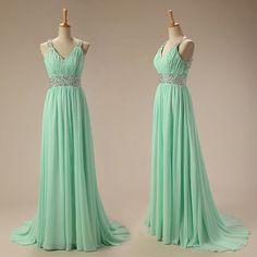green prom dress 2016, prom dresses, #prom