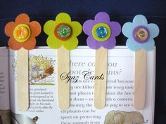 bookmarks   You can get the flower kit (ice-cream sticks are not included) from ...