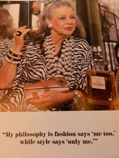 """http://www.boutique-stilleben.de: """"Fashion says ME TOO, while style says ONLY ME!"""""""