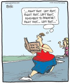 Marathon funny cartoons from CartoonStock directory - the world's largest on-line collection of cartoons and comics. Running Cartoon, Running Jokes, Running Workouts, Interval Running, Fitness Workouts, Power Walking, Gym Humor, Workout Humor, Fitness Humor