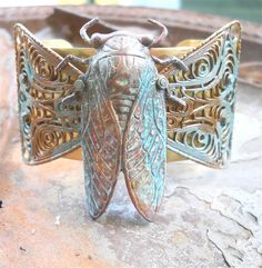 Cicada cuff...something a little different