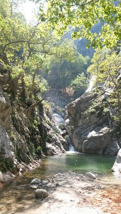 Fonias Waterfall, Samothraki, Greece Life Is Beautiful, Beautiful Places, Mountain Paintings, Secret Places, Sandy Beaches, Beautiful Islands, Greek Islands, Amazing Nature, Travel Photos