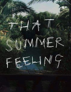 that summer feeling ♥
