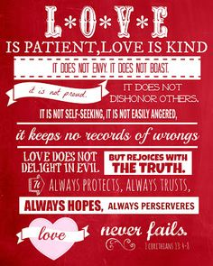 """Inspirations by D: """"Love is..."""" (Free Prints)"""