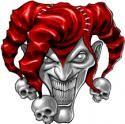Visious Jester Tattoo Tattoos Design Joker Hat, Joker Clown, Creepy Clown, Joker Drawings, Dark Art Drawings, Tattoo Drawings, Wicked Jester, Evil Jester, Evil Clown Tattoos