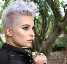 When it comes to short haircuts the most popular one, of course, is the trendy pixie haircut. It has many styles and designs among which each woman chooses the