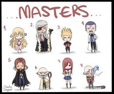 I have a question how come none of the masters died