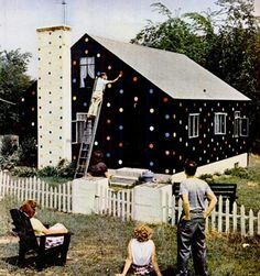 Polka dot house - why not?