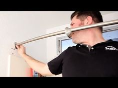 How To Install A Curved Shower Curtain Rod Build.com - YouTube