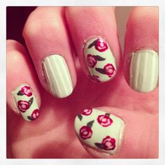 This is really pretty!!  #IHeartNailArt