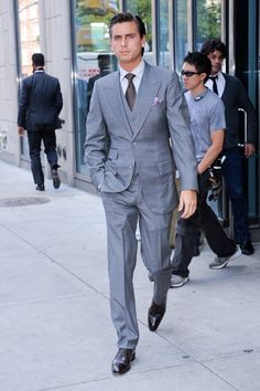 Monsieur Got Style.: Scott Disick. Style Guru. This Man ALWAYS looks good.