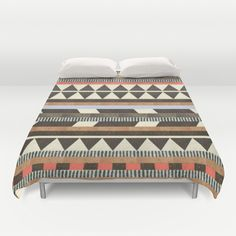 DG Aztec No.1 Duvet Cover by Dawn Gardner - $99.00