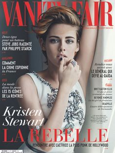 Kristen Stewart en couverture de vanity fair france 61