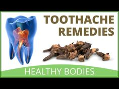 Home Remedy For Toothache Pain Relief - YouTube