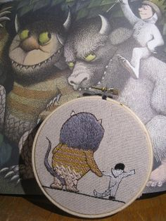 max and wild thing by daisyeyes, via Flickr where the wild things are
