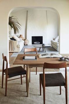 In a farmhouse design, the side table seems to have important roles that are unreplaceable. The farmhouse side table is not there for merely functions but the right design and … Living Room Designs, Living Room Decor, Living Spaces, Small Living, Living Room Interior, Interior Design Minimalist, Minimalist Rugs, Minimalist Apartment, Minimalist Style