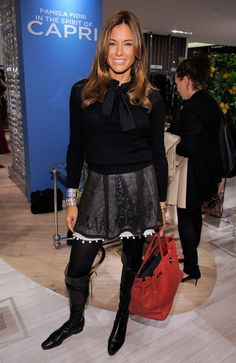 "Kelly Bensimon - Saks 5th Ave Hosts Launch of Pamela Fiori's Book ""In The Spirit of Capri"""