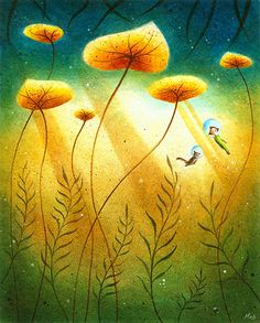 by May Ann Licudine art illustration leaves