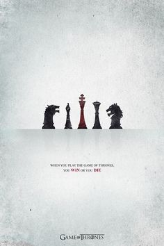 Minimalist Game of Thrones poster