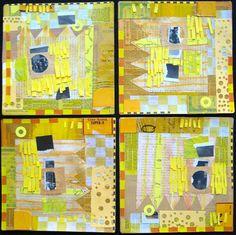 S.Ende-Saxe, collage art