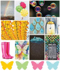 Butterfly Reflections, Ink.: April Mood Board