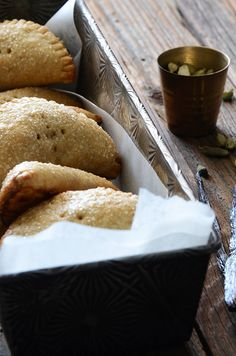 Vanilla-Cardamom Pear Hand Pies #baking #recipe #autumn #fall