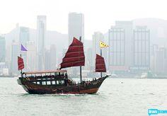 Hong Kong by boat