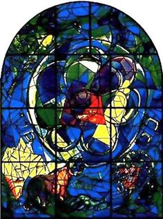 20 CHAGALL STAINED GLASSES BENJAMIN JERUSALEM