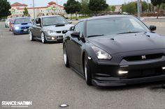Nissan GTR & WRX's