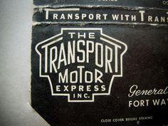 The Transport Motor Express by Draplin, via Flickr #typography