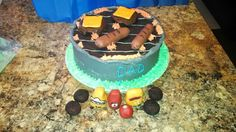 Father's day grill cake @https://m.facebook.com/Imacakehead