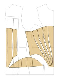 Corset Pattern Sewing Patterns Free, Sewing Tutorials, Clothing Patterns, Techniques Couture, Sewing Techniques, Costume Patterns, Dress Patterns, Pattern Cutting, Pattern Making