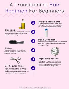 Start a Transitioning Hair Regimen in 6 Easy Steps | Naturally Madisen