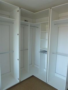 Odd Shaped Closet Organizers L Organizer Design Ideas Below Is An Pleasant Best Corner Wardrobe On Of C Wardrobe Design Bedroom, Bedroom Cupboard Designs, Bedroom Cupboards, Master Bedroom Closet, Bedroom Decor, Master Suite, Walk In Wardrobe, Walk In Closet, Closet Doors