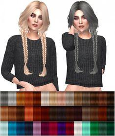 Kenzar Sims: HallowSims Sigma hairstyle retextured • Sims 4 Downloads