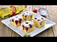 Prajitura cu visine | Sour Cherry Sheet Cake (CC Eng Sub) | JamilaCuisine - YouTube Sour Cherry, No Cook Desserts, Waffles, French Toast, Muffin, Food And Drink, Peach, Cooking, Breakfast