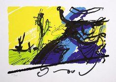 Bono is een zeefdruk van Herman Brood uit de begin jaren negentig. Uiteraard met de hand gesigneerd. De oplage bedraagt 150 zeefdrukken en het papierformaat is 40 x 50 cm.