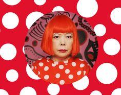 Yayoi Kusama #polka #dots #bits http://www.bitslabo.fr