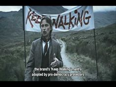 "Have you seen ""The Man Who Walked Around the World"" from Johnnie Walker. Amazing 6min long commercial by BBH London."