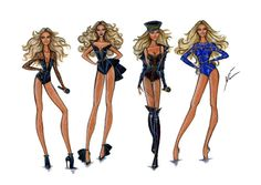 Beyonce On the Run Tour Collection by Yigit Ozcakmak
