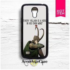 Loki Laufeyson Tom Hiddleston Qoute Thor Samsung S4 Mini Case