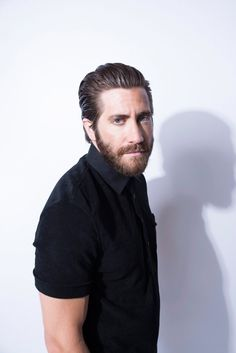 Jake Gyllenhaal on a photoshoot for the «Paris Match» magazine.  June, 2015.