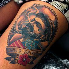 Tattoo done byVicky Morgan. @vickymorgantattoo