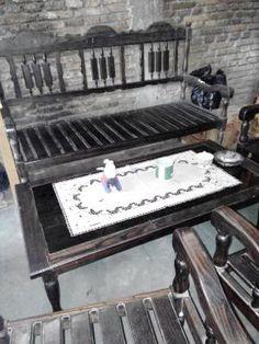 kursi kayu hitam/ebony celebes