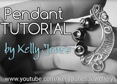 Wire Woven Pendant Tutorial for Wire Weaving Beginners - The Beading Gem's Journal Wire Weaving Tutorial, Wire Necklace, Necklaces, Wire Jewelry Designs, Diy Crafts Jewelry, Jewelry Making Tutorials, Wire Art, Wire Wrapping, Beading
