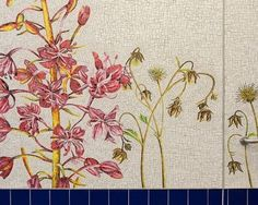 """Maylee Christie's Mosaic Sculpture """"Orchid"""" Sells for £44,000 at Sotheby's 