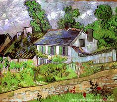 Vincent van Gogh. Houses in Auvers