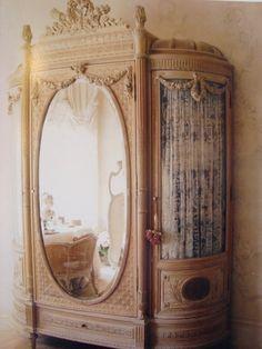 Gorgeous French armoire