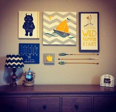 Art By Cherise Larue: {WHERE THE WILD THINGS ARE Themed Nursery Art and Decor}