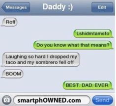 I wish my dad could do this